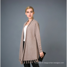 Lady's Fashion Cashmere Blend Sweater 17brpv099